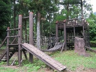 幕山公園のアスレチック,アスレチック,神奈川,