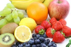 並んだフルーツ,妊婦,朝ごはん,レシピ