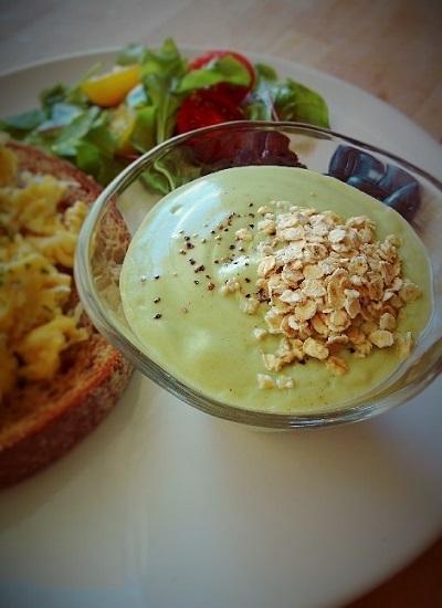 アボガドのスープ,妊婦,朝ごはん,レシピ