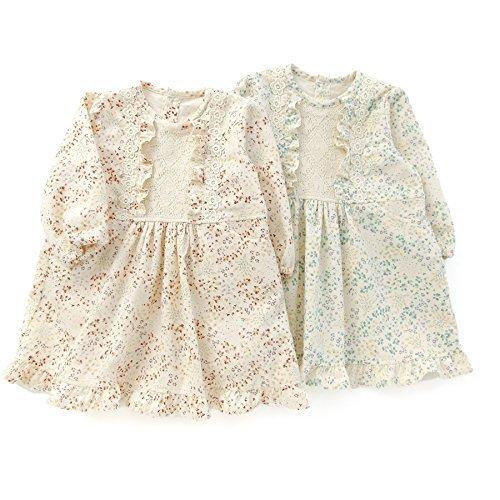 Biquette Club(ビケットクラブ) ワンピース (80~130cm) キムラタンの子供服 (10357x10557-163) グリーン 95,服,