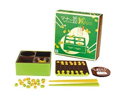 マナーシリーズ マナー豆 (匠),マナー豆,箸,練習