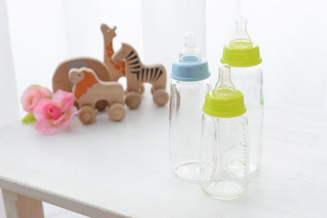 哺乳瓶おもちゃ花,哺乳瓶,消毒,