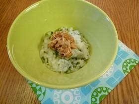 離乳食 わかめと納豆のおかゆ,離乳食,栄養,食物繊維