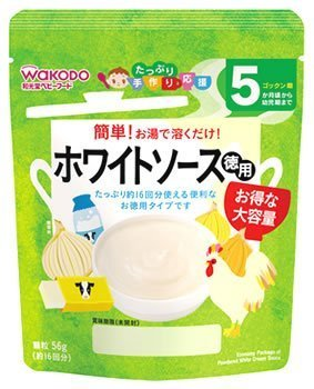 たっぷり手作り応援 ホワイトソース 徳用 顆粒 56g(約16回分) 5ヶ月頃から,離乳食,シチュー,