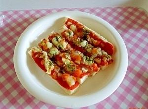 離乳食 後期~ ピザトースト,離乳食,食パン,