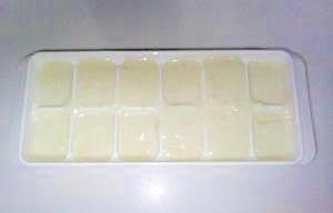 バター不使用。電子レンジで片栗粉ホワイトソース。,離乳食,ホワイトソース,