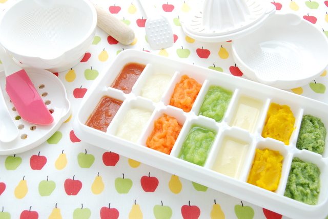 離乳食の冷凍保存,離乳食,ホワイトソース,
