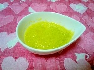 <離乳食初期>キャベツのコーンスープ ,離乳食,野菜スープ,
