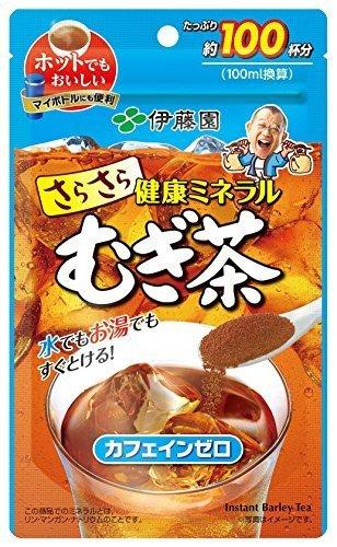 伊藤園 さらさら健康ミネラルむぎ茶 80g (チャック付き袋タイプ),ノンカフェイン,お茶,妊婦