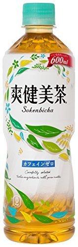 コカ・コーラ 爽健美茶 お茶 ペットボトル 600ml×24本,ノンカフェイン,お茶,妊婦