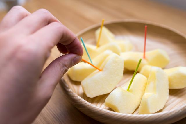 カットりんご,離乳食,りんご,