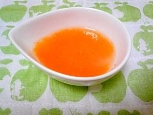 <離乳食初期>にんたまのりんごスープ,離乳食,りんご,