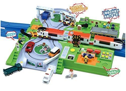 プラレール トミカと遊ぼう!DX踏切ステーション,5歳,男の子,プレゼント
