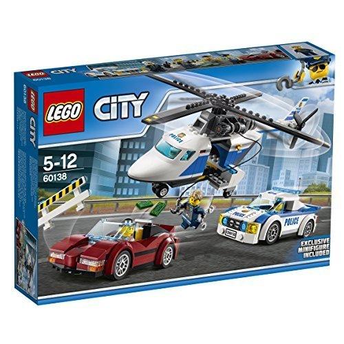 レゴ (LEGO) シティ ポリスヘリコプターとポリスカー 60138,5歳,男の子,プレゼント