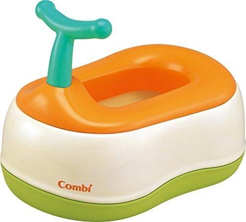 コンビ Combi トイレトレーニング ベビーレーベル おまるでステップ レーベルオレンジ (LO) (6ヶ月頃から対象),補助便座,