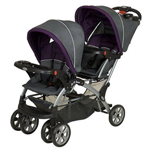 Baby Trend(ベビートレンド) シット&スタンド ダブル 兄弟用二人乗りベビーカー エリクサー SS76715,双子,グッズ,