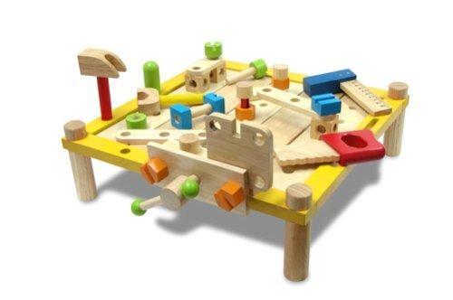 I'mTOY カーペンターテーブル,おもちゃ,2歳,