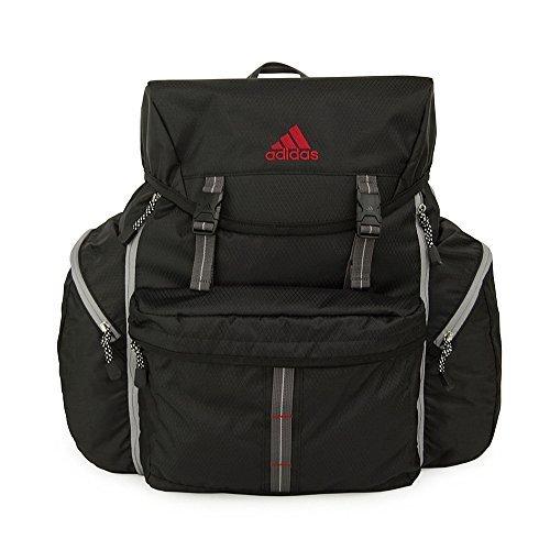 (アディダス) adidas 大型サブリュック/リュックサック ヒューゲル 50L 47242 (ブラック(01)),林間学校,バッグ,