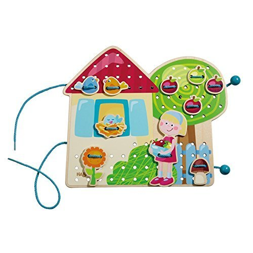ハバ(HABA) ひも通し・ハッピーガーデン HA301125,知育玩具,3歳,おすすめ