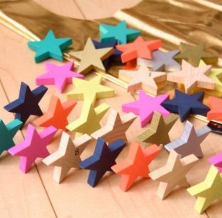 kiko+ tanabata(キコ たなばた 七夕) 星形ドミノセット 木製 積み木 木のおもちゃ ドミノ倒し,おもちゃ,1歳,