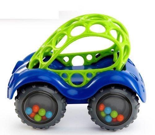 O'ball オーボール ラトル&ロール ブルー (81510-02) by Kids II,ベビーカー,おもちゃ,
