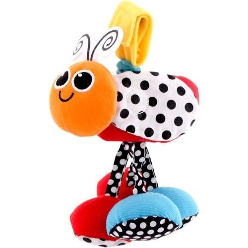 Sassy ジッター・バグオレンジ,ベビーカー,おもちゃ,