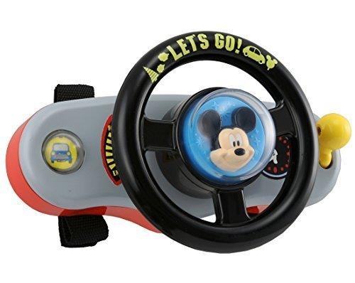 ディズニー はじめて英語 ミッキーマウス おでかけサウンドハンドル,ベビーカー,おもちゃ,