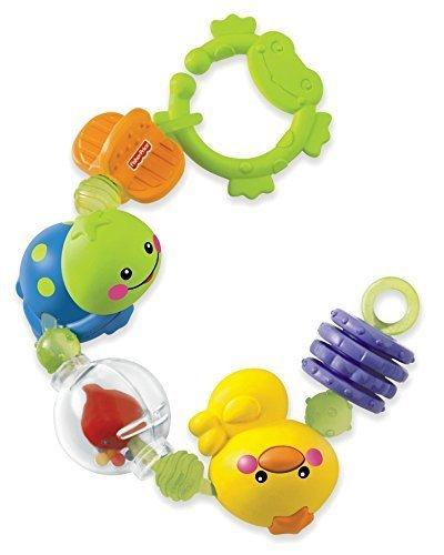 フィッシャープライス 指遊びがいっぱいリング (N2862),ベビーカー,おもちゃ,