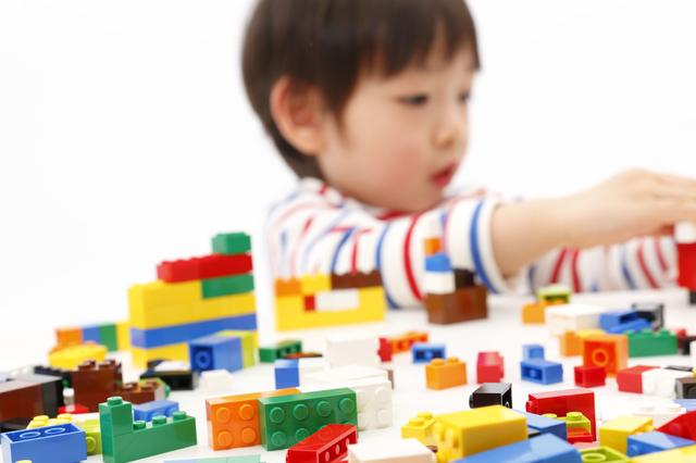 ブロック遊び,4歳,男の子,プレゼント