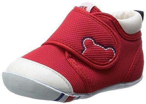 [ミキハウス] ファーストベビーシューズ 10-9372-978 002 (アカ/12),赤ちゃん,靴,