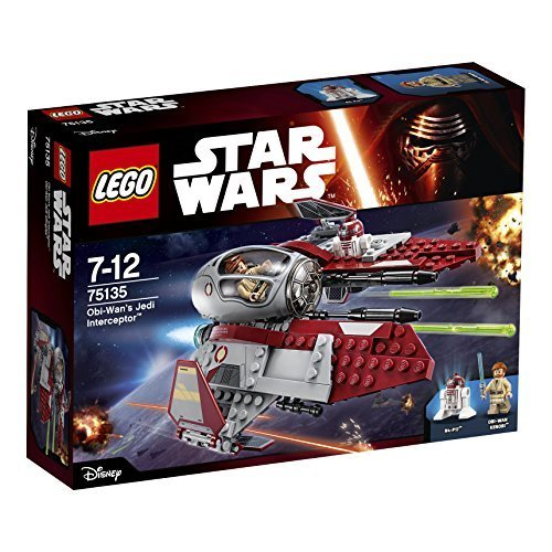 レゴ (LEGO) スター・ウォーズ オビ=ワンのジェダイ・インターセプター 75135,6歳,男の子,プレゼント