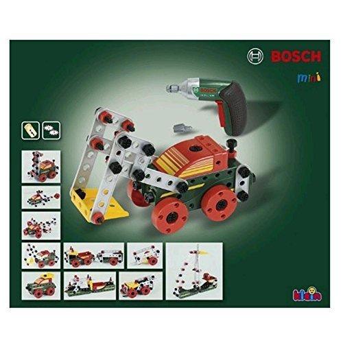 マルチテック おもちゃのくるま組み立てセットと電動ドライバー ボッシュ,6歳,男の子,プレゼント