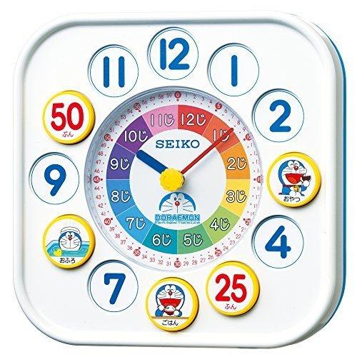 SEIKO CLOCK(セイコークロック) ドラえもん知育時計(白) CQ319W,6歳,男の子,プレゼント