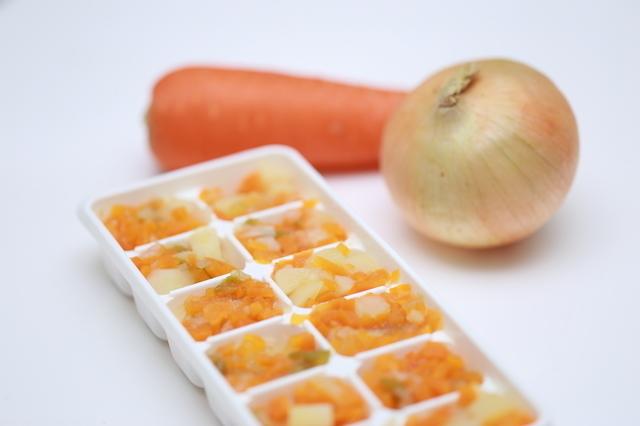 離乳食の冷凍,離乳食,冷凍,容器