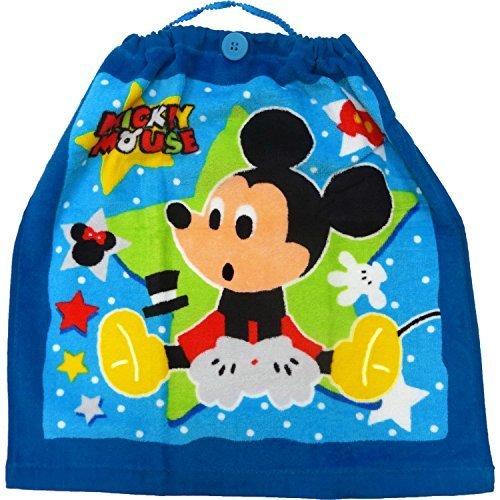 お食事エプロン ラッキースター ミッキー おりこうタオル 34×35cm WD440200 ディズニー,赤ちゃん,タオル,