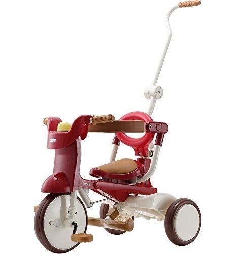 三輪車 iimo tricycle 02 エタニティ・レッド 1040,三輪車,人気,
