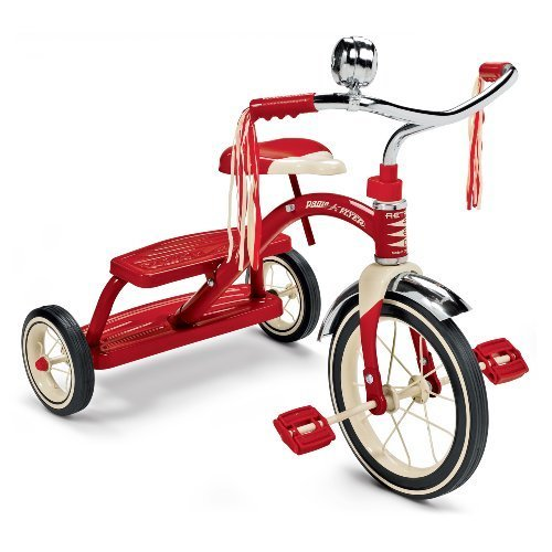 RADIO FRYER (ラジオフライヤー) クラシックレッドトライク Classic Red Dual Deck Trike,三輪車,人気,
