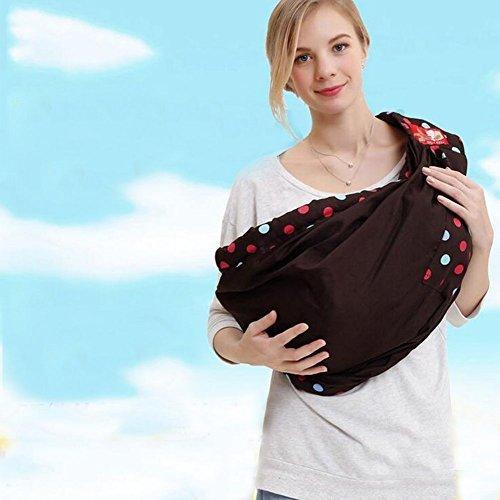 Cuby 多機能ベビースリングに通気性と柔らかい肩バック (サファイアブルーA),スリング,おすすめ,