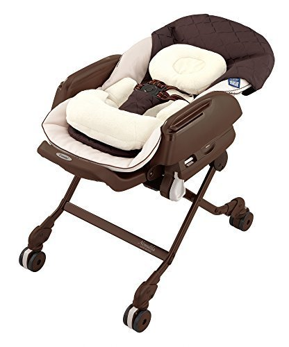 コンビ ネムリラ AUTO SWING BEDi Plus ショコラブラウン(BR) 【対象年齢:新生児~4才頃】,ベビーラック,