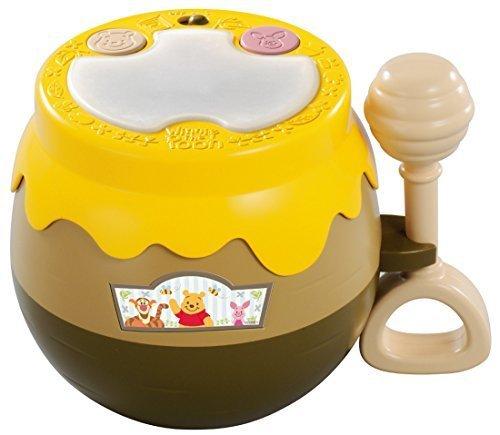 ディズニー くまのプーさん たたいてピカピカ光るタイコ,おもちゃ,楽器,