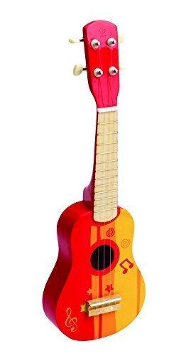 Hape(ハペ) ウクレレ(レッド) E0316,おもちゃ,楽器,