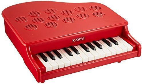 KAWAI ミニピアノ P-25 (ローズレッド),おもちゃ,楽器,