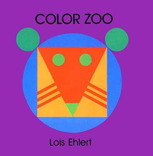 Color Zoo,英語,絵本,
