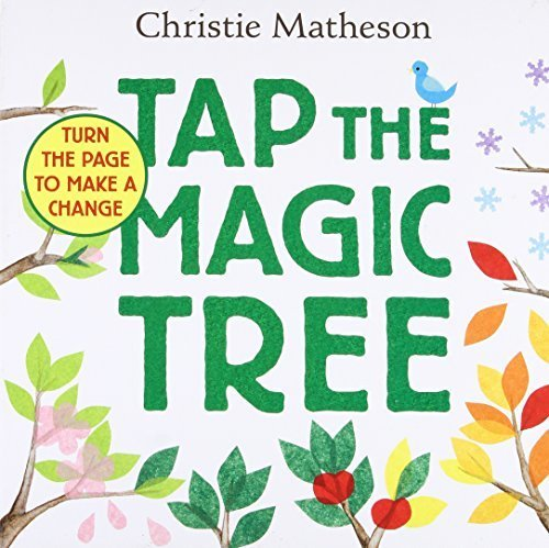 Tap the Magic Tree Board Book,英語,絵本,