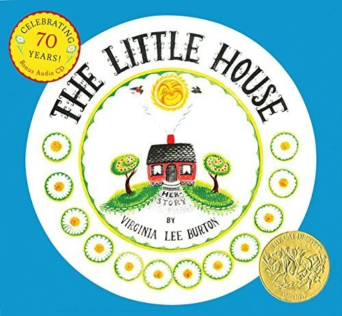 The Little House 70th Anniversary Edition with CD,英語,絵本,