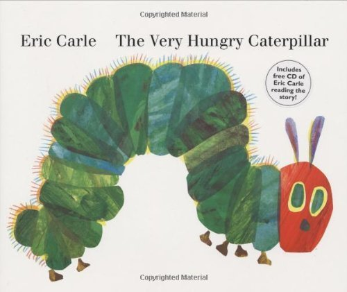 The Very Hungry Caterpillar,英語,絵本,