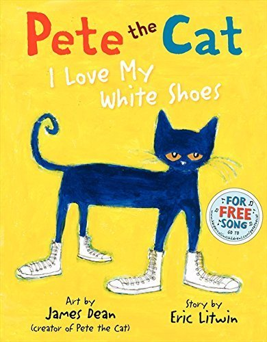 Pete the Cat: I Love My White Shoes,英語,絵本,
