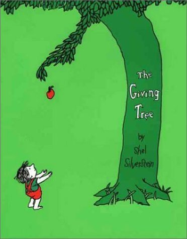 The Giving Tree,英語,絵本,
