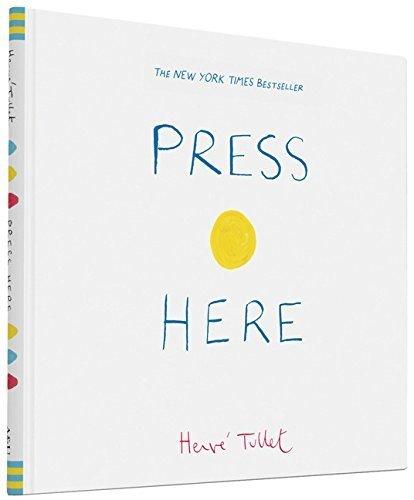 Press Here,英語,絵本,