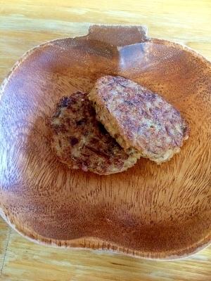 【離乳食後期】鯖の味噌煮缶で豆腐ハンバーグ!,離乳食,豆腐ハンバーグ,